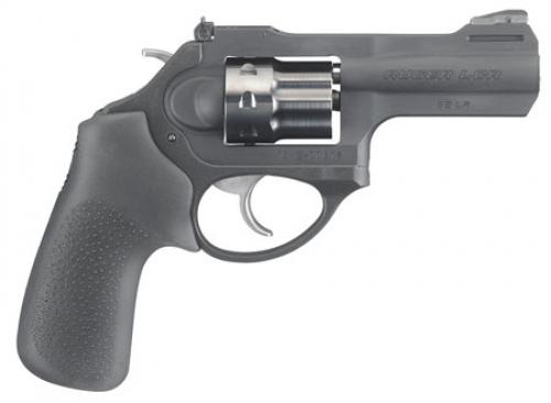Ruger 5435 LCRx Matte Double Action .22 LR (LR) 3 8 Black Hogue Tamer Black