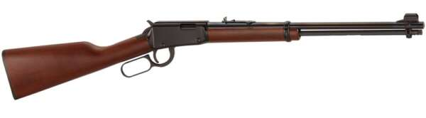 The Henry Lever Action is a classic Western-style lever action rifle and one of the most popular rimfire rifles on the market today. They just shoot great, looks great and are remarkably affordable - about half the price of the competition's rifles! And add to that the fact that many people just like the way Henry does business. Unashamedly patriotic, Henry wears their love for this country big & bold, right up front for all to see.