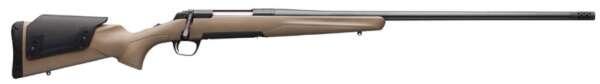 "Browning 035510227 X-Bolt Stalker Long Range 7mm Rem Mag 3+1 26"" Flat Dark Earth Fixed w/Adjustable Comb Stock Matte Blued Right"